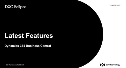Dynamics 365 Business Central - New features and add-ons