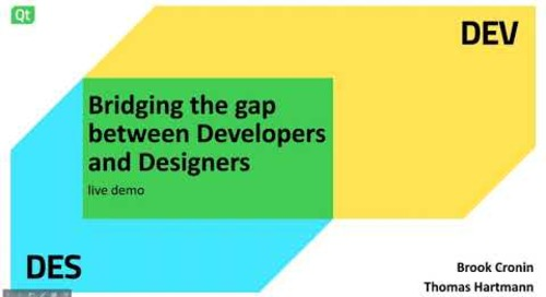 Bridging the gap between Developers and Designers – Live demo