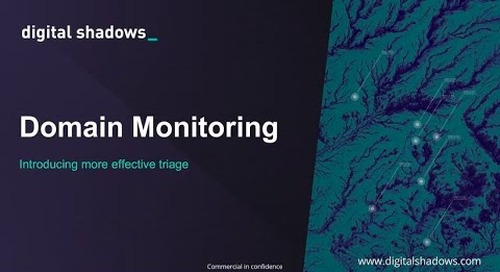 Domain Monitoring Changes: Dramatically Reduce Time to Triage