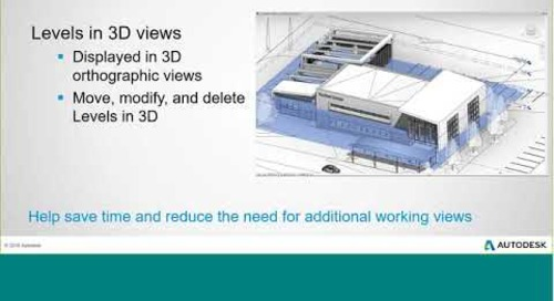 BIM Learning Session: What's New in Revit 2019