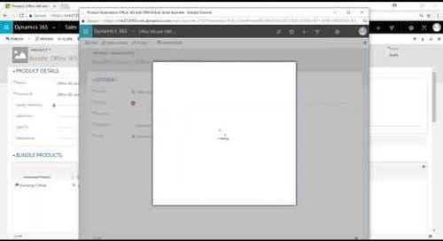 Product Bundles Setup | Dynamics 365 Sales | Western Computer