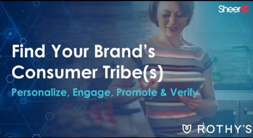 SheerID Find Your Brands Consumer Tribe - Adweek Webinar