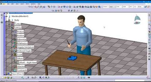 Tip: Creating a Manikin Simulation in CATIA V5