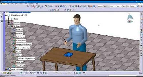 Tip: Creating a Manikin Simulation in CATIA V5