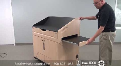 High Tech Multimedia Podiums for Digital Electronic Classrooms