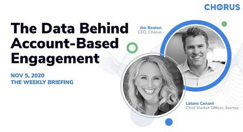 The Weekly Briefing  - The Data Behind Account-Based Engagement