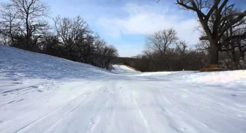 Toboggan Run at Mahoney State Park