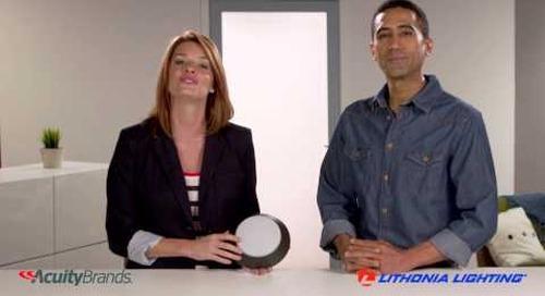 Versi Lite LED Flush Mount from Lithonia Lighting