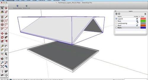 SketchUp Training Series: Layers