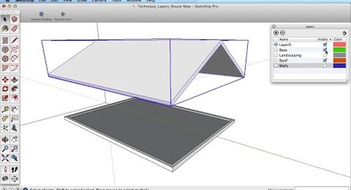 SketchUp Training Series: Layers