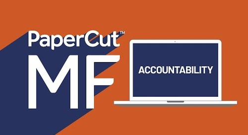 Accountability with PaperCut MF