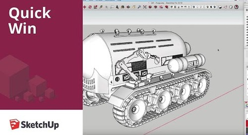 [Quick Win] Purge Unused to Speed up your SketchUp Models
