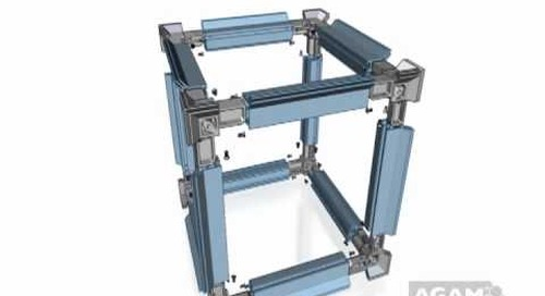 AGAM FH Knuckle Joint 3-Way Cube