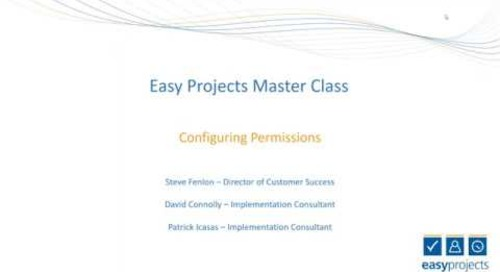 Easy Projects Master Class: Configuring Permissions