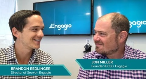 Why Are We Seeing Diminishing Returns from Demand Gen?      Jon Miller of Engagio