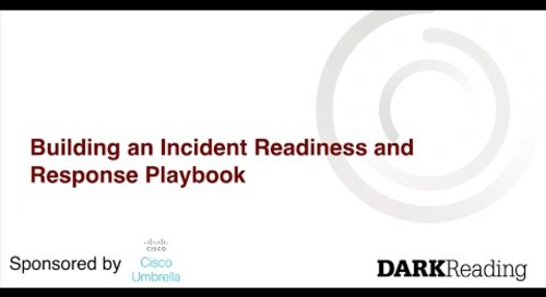Building an Incident Readiness and Response Playbook