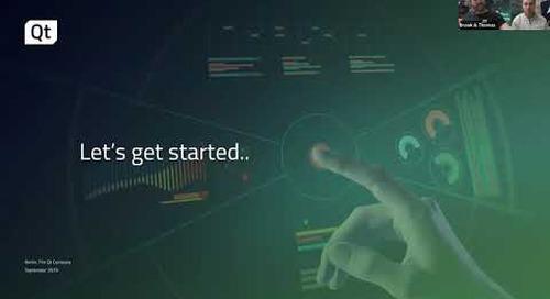 Turn your Sketch UI Designs Into Code with Qt Design Studio {On-demand webinar}