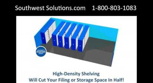 High Density Storage Shelving Saves Square Footage