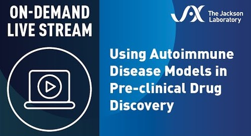 Using Autoimmune Disease Models in Pre-clinical Drug Discovery