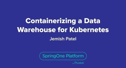Containerizing a Data Warehouse for Kubernetes