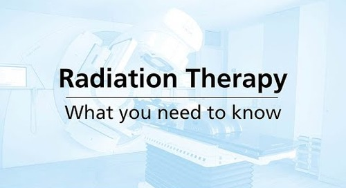 Radiation Therapy: What You Need to Know | Providence Cancer Institute