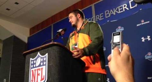 Zack Martin (NFL Combine)
