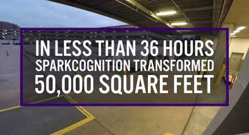 Building the Future at Time Machine 2019 - Event Setup Timelapse