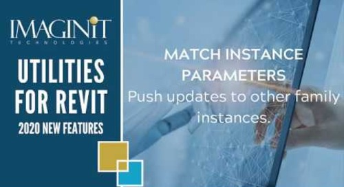 Utilities for Revit Match Instance Parameters