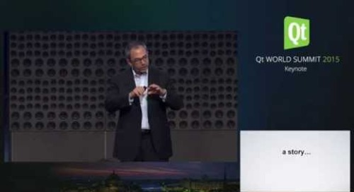 QtWS15- Big Data and the Future of Business, Kenneth Cukier, The Economist, Keynote