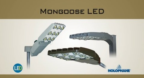 Mongoose LED Roadway And Area Luminaire