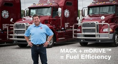 Big M Transportation saves big with Mack's mDRIVE