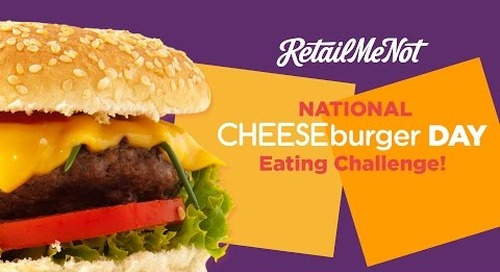 National Cheeseburger Day Burger Challenge