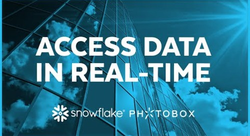 Photobox - Accessing Data in Near Real-Time