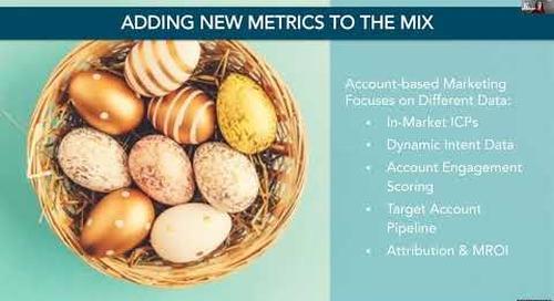 Data, Dashboards, and KPIs for Revenue Winners (B2BSMX 2020, REVTalks)