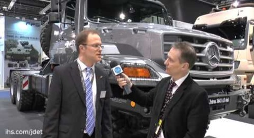 IDEX 2015 Shaun Connors talks to Mercedes-Benz about their latest Zetros 3643 AS 6x6 vehicle