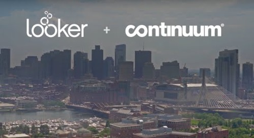 Continuum + Looker: Enabling Self-Service Analytics