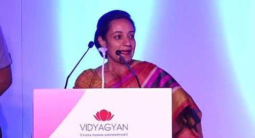 Ms. Geeta Goel, Country Director, Michael and Susan Dell Foundation | VidyaGyan Graduation Day 2018