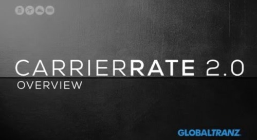 CARRIERRATE 2.0 Overview