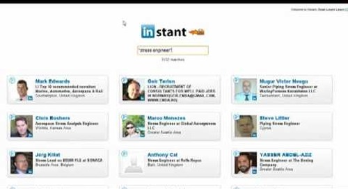 LinkedIn InStant Search