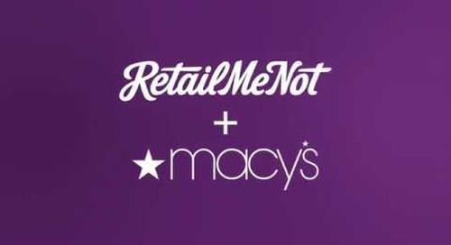 2017 Macy's + RetailMeNot Reel
