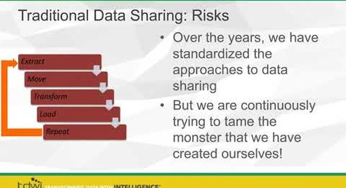 TDWI Webinar: Improving Data Sharing Through Modernized Data Accessibility