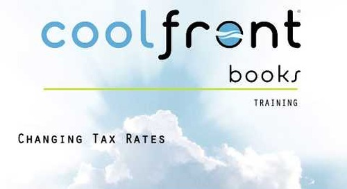 Coolfront Books - Changing Tax Rates