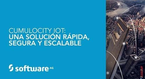 Cumulocity IoT: una solución rápida, segura y escalable