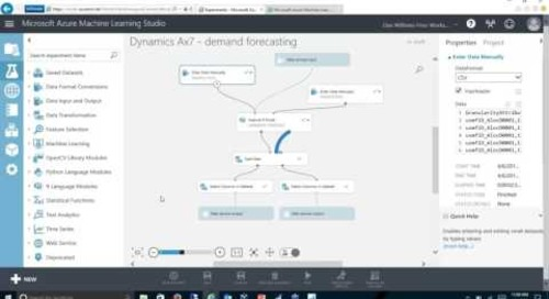 Using Cortana to Forecast in Microsoft Dynamics NAV