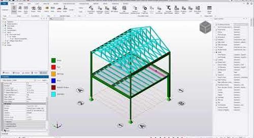 Tekla Structural Designer - Design using Tekla Tedds - Wood Member Design (NDS)