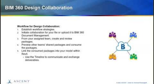 Webcast: Maximize the Design Collaborations tools available in BIM 360