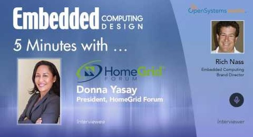 Five Minutes With…Donna Yasay, President, HomeGrid Forum