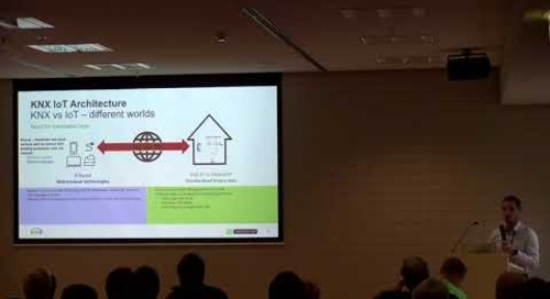 QtWS17 - KNX in the IoT world, Dries Verbrugge, KNX