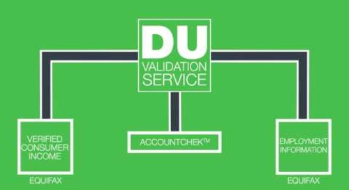 Fannie Mae Introduces the DU® Validation Service