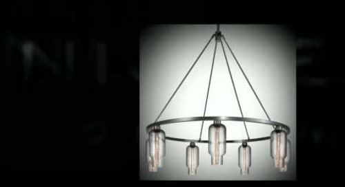 Niche - Contemporary Chandeliers with Handmade Glass Shades